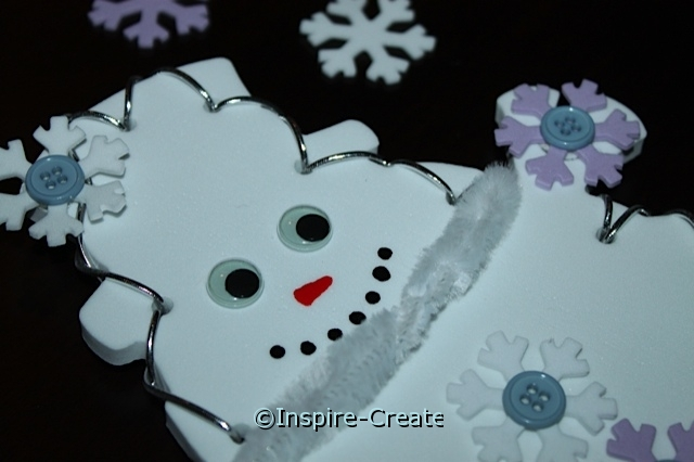 Snowman... A great Winter Craft.