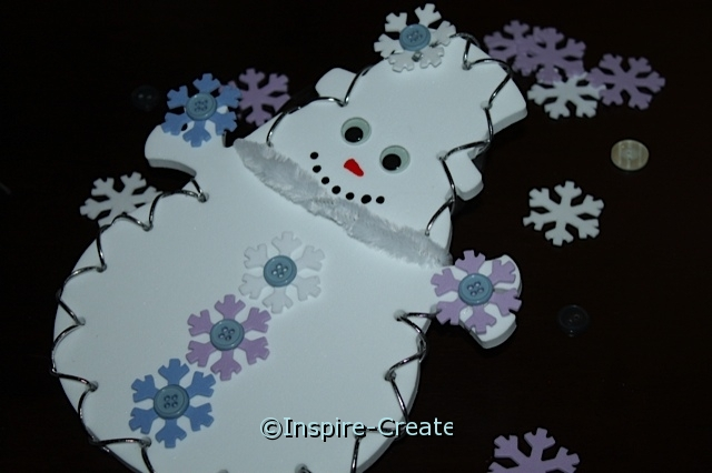 Easy Snowman Craft