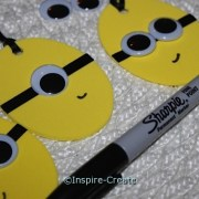 add smile with black sharpie marker
