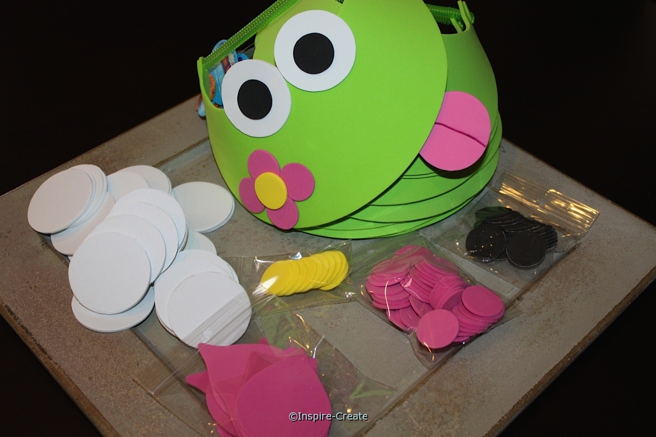 frog and flower visor kit