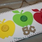 Easy to Make Apple Sign w/ Craft Foam