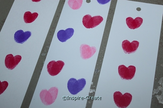Easy Heart Bookmarks for Kids!