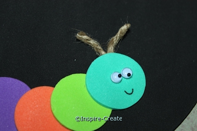 Caterpillar Craft... Add Wiggle Eyes!