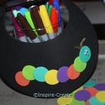 Hungry Caterpillar Craft for Kids