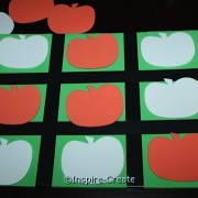 Tie Tac Toe Game made with Craft Foam Pumpkins!