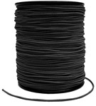 Black Matte Elastic (100 yds)*
