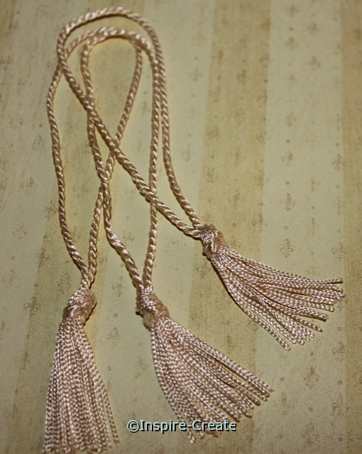Maize Chainette Bookmark Tassels (50)*