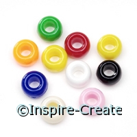 Multi Opaque Pony Beads (720)*