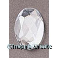 Crystal OVAL Rhinestones (10)*