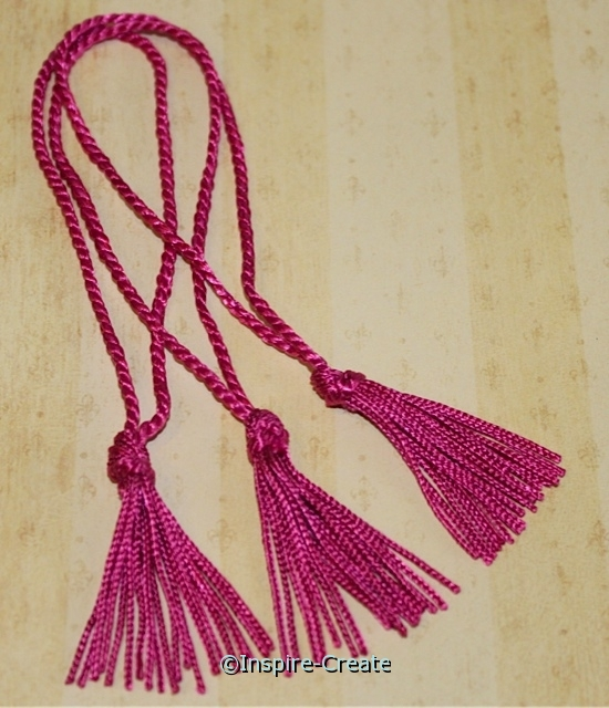 Azalea Chainette Bookmark Tassels (50)*
