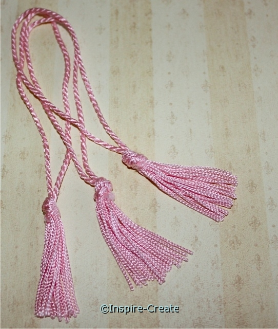 Pink Chainette Bookmark Tassels (50)*