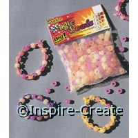 Magic Color Changing 9mm Pony Beads (170)*