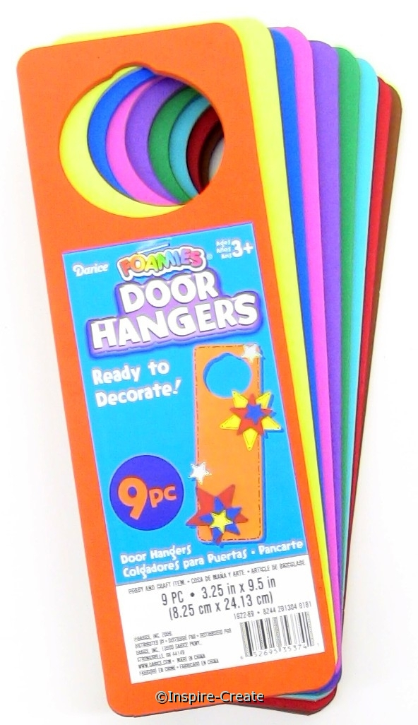 Foamies Basic Door Hanger (9)*