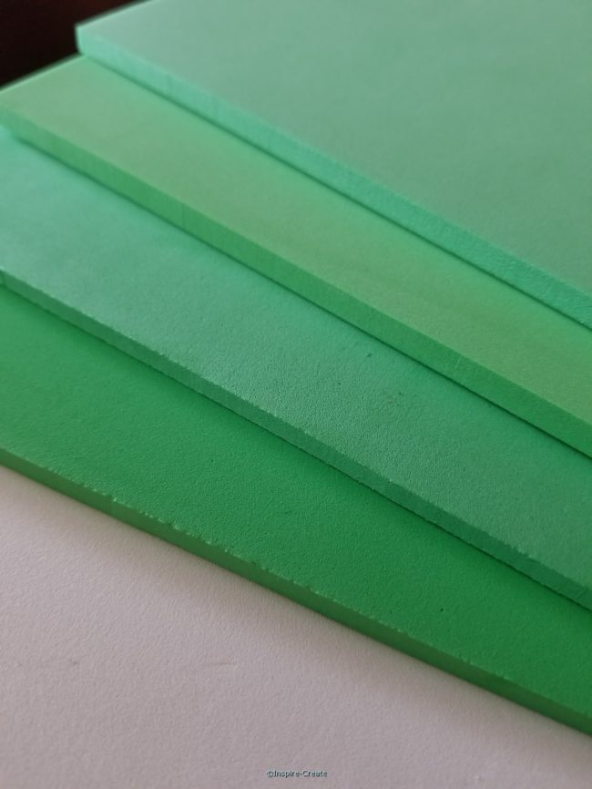 Foamies 6mm Green 9x12 Sheets (4)*