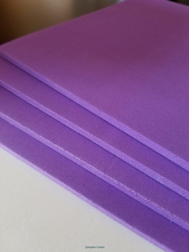 Foamies 6mm Purple 9x12 Sheets (4)*