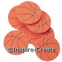 Foamies Basketball Stickers (55)*