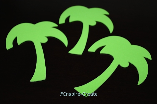 Palm Tree Foam SHAPES (Bulk 60) ~All Sales Final