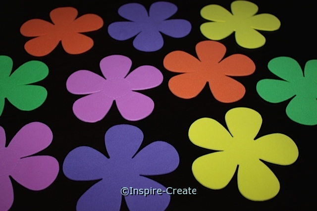 Petal Flower Foam SHAPES (Bulk 60)*
