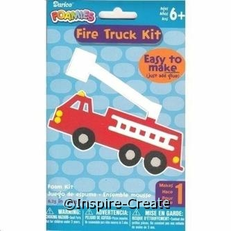 Foamies Fire Truck Craft Kit*