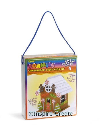 Foamies Gingerbread House Kit*