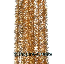 Metallic Gold Chenille Stems (Box of 100)*