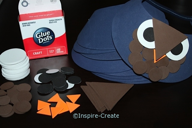 Foamies Owl Visor Party Kit (Makes 8)*