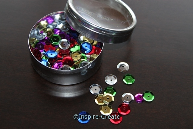 8mm Multi Round Sequins (200) w/ Tin*