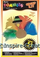 Foamies Turkey Pin Group Kit (Makes 12)*