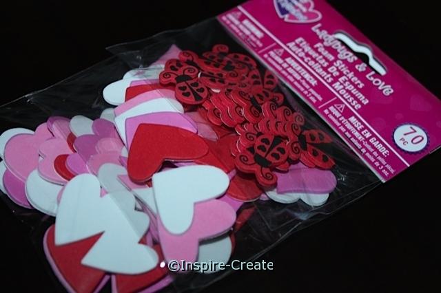 Foamies Ladybug Love Stickers (70)*