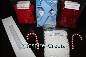 Candy Cane Bead Kit