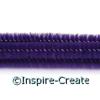 Purple Chenille Stems (100)*