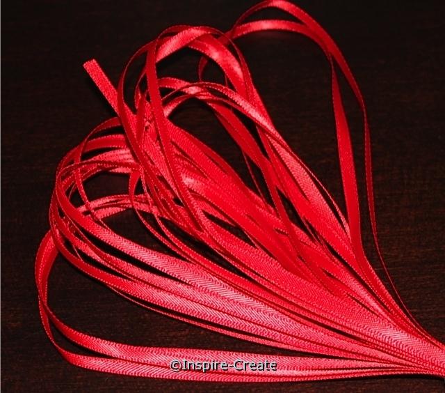 "Red 1/8"" Ribbon (500 yds)*"