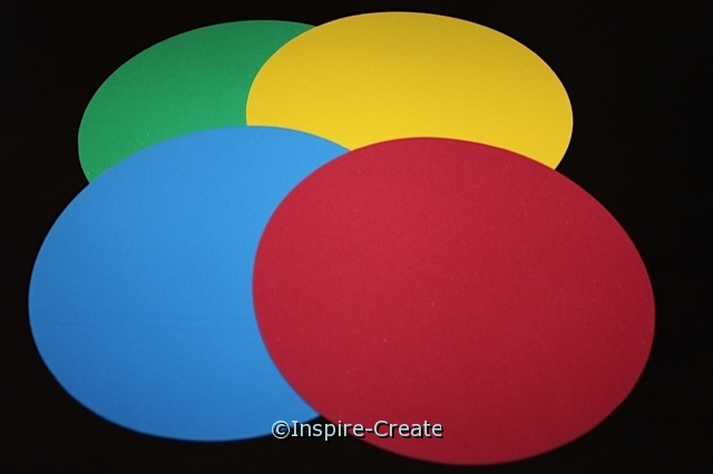 "Foam 8"" Large Multi Circle SHAPES (Bulk 24) ~All Sales Final"