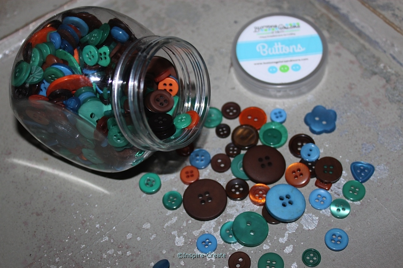 Vagabond Jar of Buttons (5 oz)*