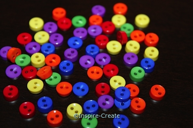 Primary Mini Buttons (40 pcs)*