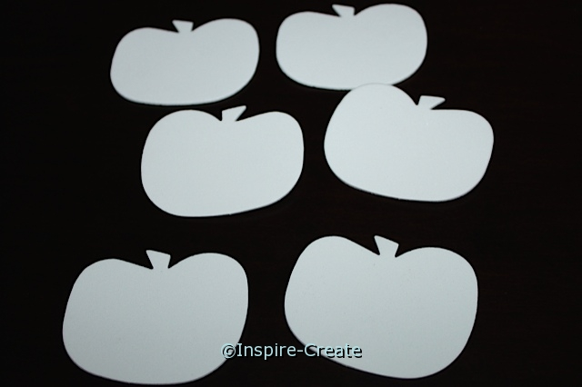 Foam White Pumpkin SHAPES (Bulk 90)*