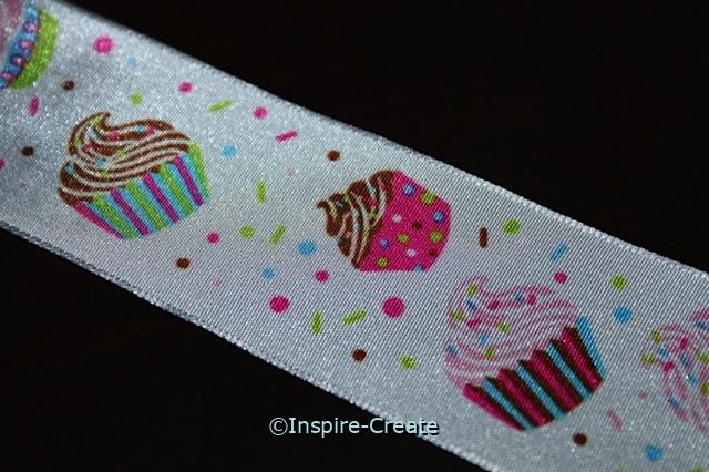 Cupcake Wire Ribbon (10 feet)*