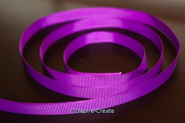 "Purple 3/8"" Grosgrain Ribbon (100 yards)*"