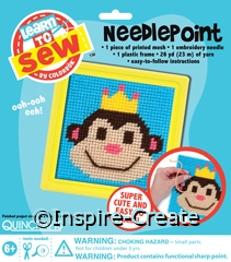 Monkey Needlepoint Kit*