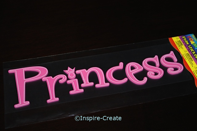 Foamies Princess Sticker Sheet*