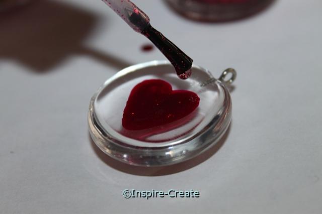 Sparkling Heart Necklace Craft