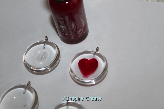 Heart Nail Polish Craft