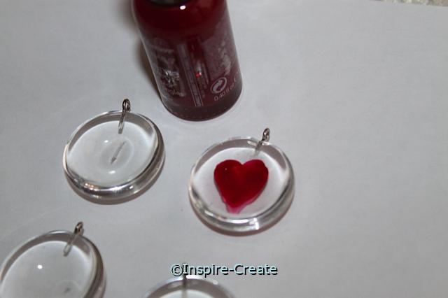 Heart Nail Polish Craft