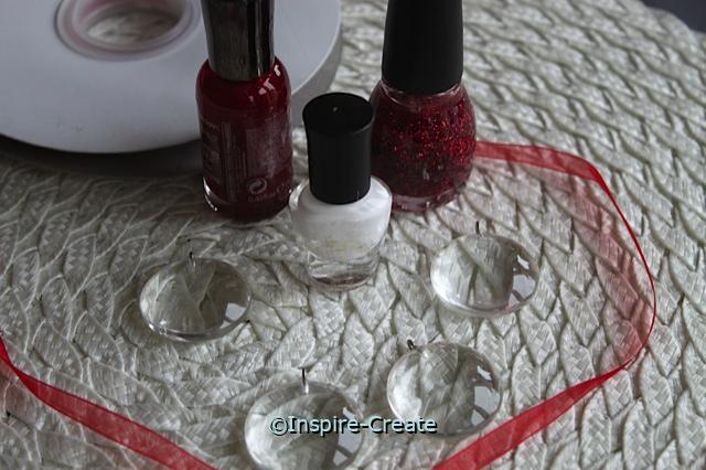 Nail Polish Necklace Supplies