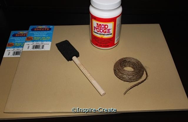 Tan Photo Coaster Kit (Makes 12)*
