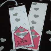 How to Make Easy Heart Bookmarks
