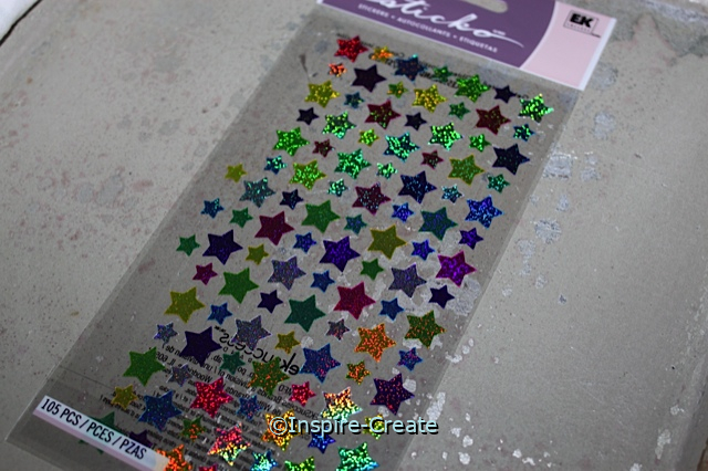 Mini Star Sticker Sheet by EK (105)*
