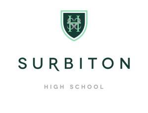 Surbiton High School Logo White