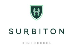 Surbiton High School Logo White