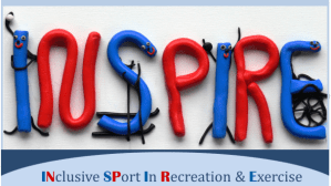Inspire Sport Banner Inclusive Sport in Recreation and Exercise